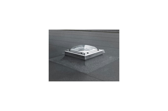Flat roof velux flat roof sun tunnel for Velux sun tunnel installation instructions