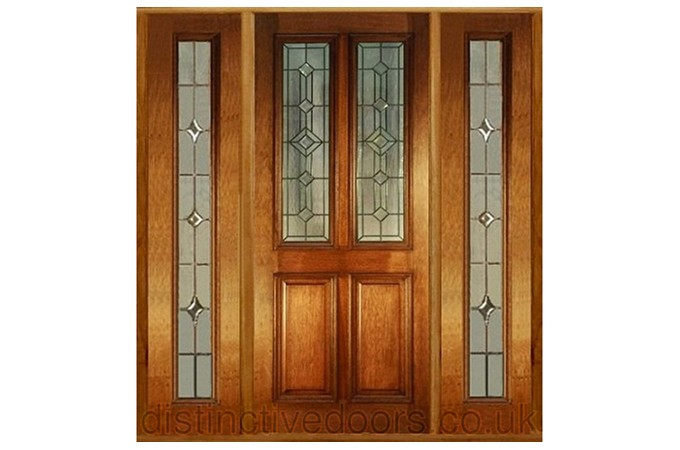 Cathedral Entrance Oak Door; Derby Mahogany Entrance Door ...  sc 1 st  The Construction Centre & Distinctive Doors Limited: Doors And External Doors
