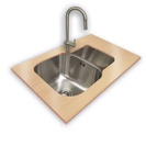 Stainless Steel Undermount Bowl
