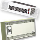 Plinth heaters and commercial wall heaters