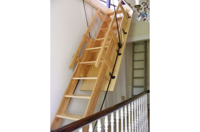 Loft centre products Motorized attic stairs