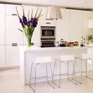 White Laminate Kitchen