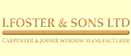 Logo of I Foster & Sons Ltd