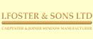 Logo of I Foster & Sons Ltd