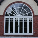 Sliding Folding Doors with feature arch