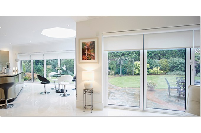 Remarkable Folding Door White Contemporary - Exterior ideas 3D ...