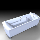 Height-adjustable Bath