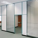Partitioning with high ceiling level