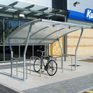 Steel & Polycarbonate Cycle Shelter