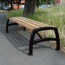 Jubilee Steel & Timber Bench