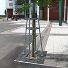Portman Galvanised Steel Tree Grille & Guard