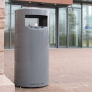 Zenith Powder Coated Steel Litter Bin
