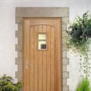 Exterior Oak Part L Feature Door