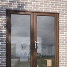 Hardwood French Door