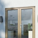 Oak French Door