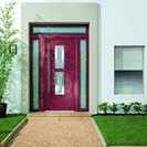 MODO by Apeer burgundy door