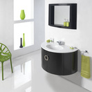 Mission Black Wall Hung Unit & Basin