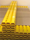 Delta Membranes yellow channel makes free lime inspections easy